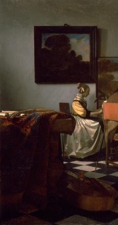 Vermeer's The Concert was stolen in 1990.