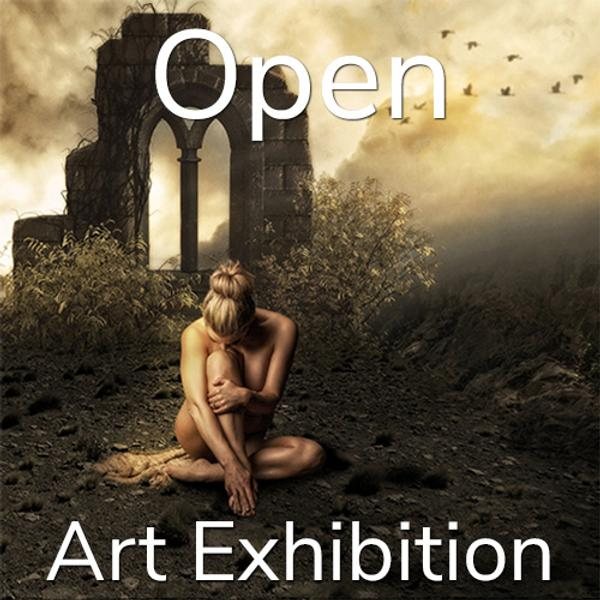 "10th Annual ""Open"" Online Art Exhibition www.lightspacetime.art"