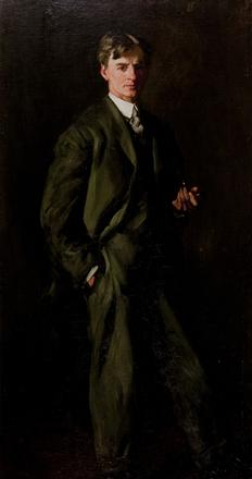 Portrait of James Preston, Esq., a 1904 painting by Robert Henri that will be featured in the Museum's 75th anniversary exhibition opening October 18.