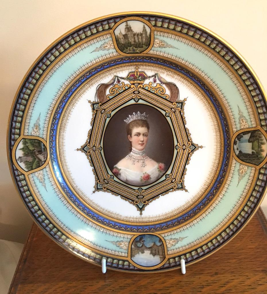 Palais Plate for Golden Jubilee of Queen Victoria