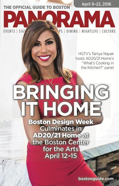 HGTV's Taniya Nayak hosts a panel on kitchen design as part of the 5th Annual Boston Design Week.