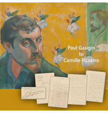 Three-page letter written by French artist Paul Gaugin to fellow artist Camille Pissarro in 1882, regarding fundamental ideas about art, artists and artistic methodology (est.  $40,000-$50,000).