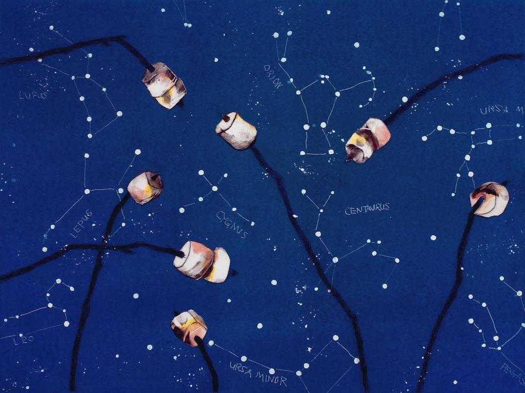 "Paula Schuette Kraemer, ""Under the Stars 14/20"""