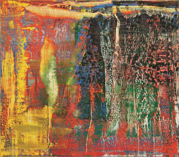 Gerhard Richter, Abstraktes Bild (940-7), 2015, oil on canvas, 140x160 cm Estimate: HK$ 75,000,000 – 95,000,000