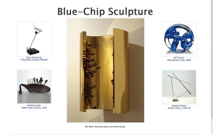 Blue-Chip Sculpture Selections