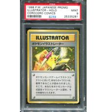 "Nintendo Pokémon ""Pikachu Illustrator"" trainer promo hologram card graded Mint 9 condition, given to a winner at the 1998 CoroCoro Comic Illustration contest in Japan ($224,250)."