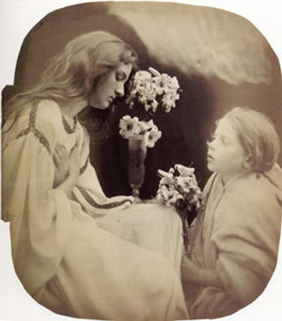 Julia Margaret Cameron England, 1815 - 1879 Allegorical Study, 1865 photograph 12 x 10 1/2 inches Private collection