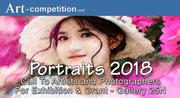 ART CALL TO ARTISTS AND PHOTOGRAPHERS – PORTRAITS 2018