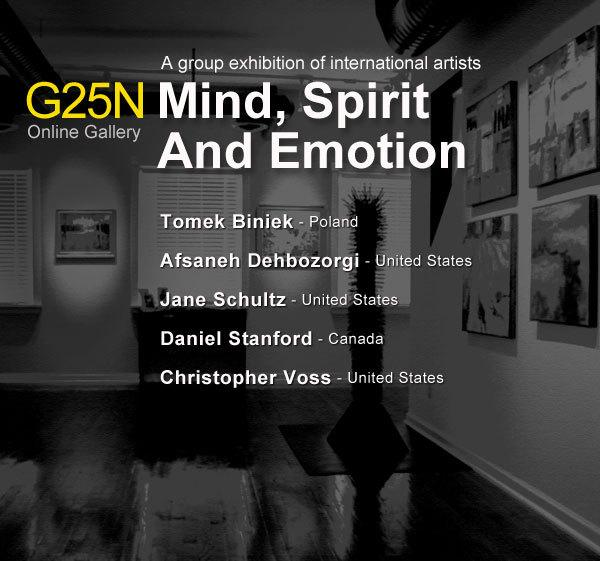 """Mind, Spirit & Emotion"" group exhibition http://gallery25n.com"