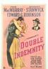 One of 150+ vintage posters to be sold, this iconic poster for Double Indemnity, a 1944 American film noir directed by Billy Wilder, is expected to reach $4,000-6,000.