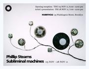 Phillip Stearns Subliminal Machines