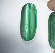 A rare and stunning matched pair of emeralds