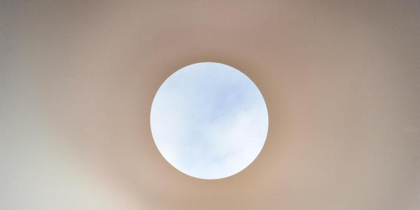 Interior of James Turrell, Within Without, 2010.  National Gallery of Australia, Canberra.  Credit: John Gollings