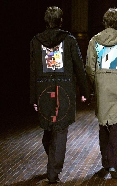 Raf Simons AW 2003 Image courtesy of Raf Simon
