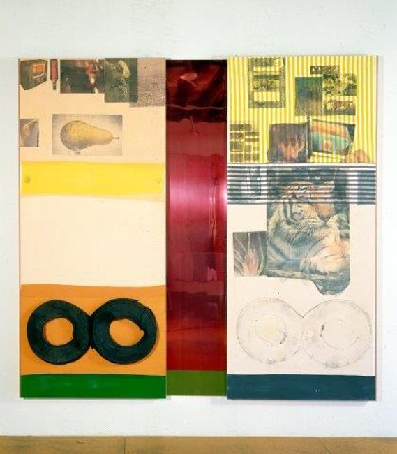 Robert Rauschenberg Ruby Re-Run Spread (1978)