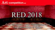 ART CALL TO ARTISTS AND PHOTOGRAPHERS – RED 2018