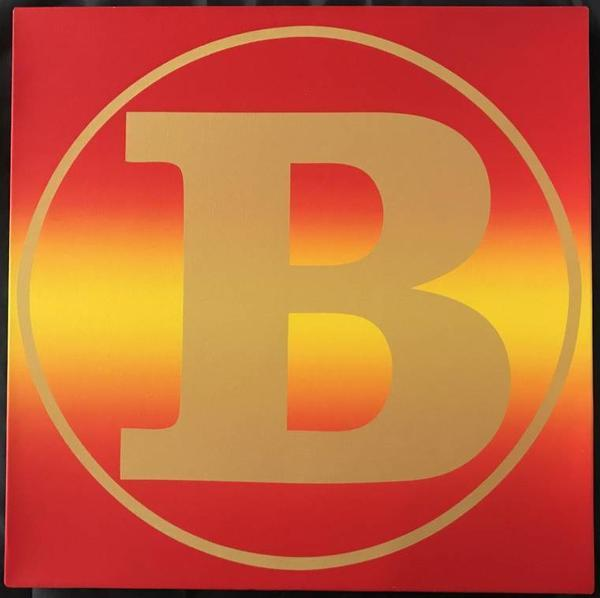 One of three known acrylic on canvas paintings of the letter 'B' by Robert Indiana (American, 1928-2018), signed and inscribed to the consignor, a personal friend (est.  $60,000-$90,000).