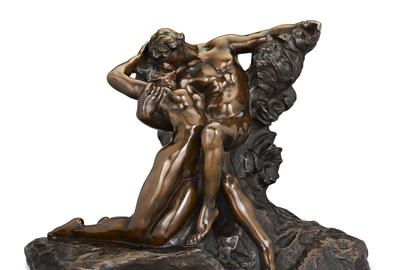 L'Éternel Printemps by Auguste Rodin.  The sculpture was originally intended for his Gates of Hell, but wa deemed too joyful.