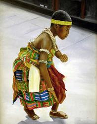 """Ghana Dancing Boy"" by Rudy Martin"