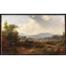 Photo credit:Landscape in the Smoky Mountains, Tennessee,by Robert S.  Duncanson.