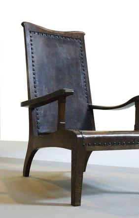 Arts & Crafts chair by Arthur Sampson, from Steve Bentley Decorative Arts.