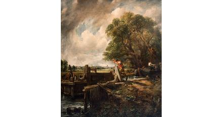 Constable's The Lock