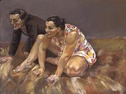 Paula Rego, Scavengers, 1994 Acrylic on paper mounted on canvas, 120 x 160 cm Private collection © Copyright Paula Rego.  Courtesy Marlborough Fine Art