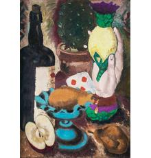 John Graham, Still Life, 1926, oil on canvas, 16 x 12 in.