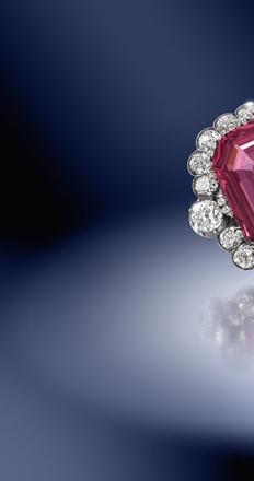 The Hope Spinel, est.  £150,000 to £200,000