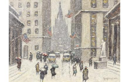 Guy Carleton Wiggins, Wall Street
