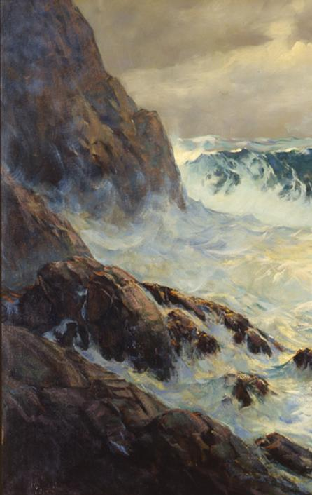 Frank Vining Smith, The Seventh Wave, 1942.  Oil on canvas, 40 x 60 in.  Private Collection.