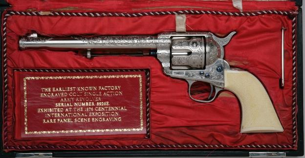 Single-action Colt revolver sold for $500,000 at Witherell's Old West Show May 6 and 7
