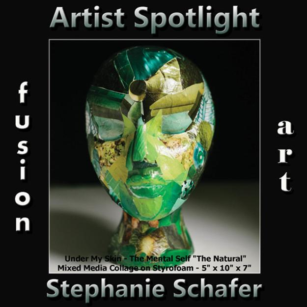 Stephanie Schafer Wins Fusion Art's Artist Spotlight Solo Art Exhibition www.fusionartps.com