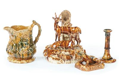 Ceramics from the personal collection of acclaimed dealers Diana and Gary Stradling of New York will sell in the 10th Annual Ohio Valley session of Garth's May 14 Americana auction.