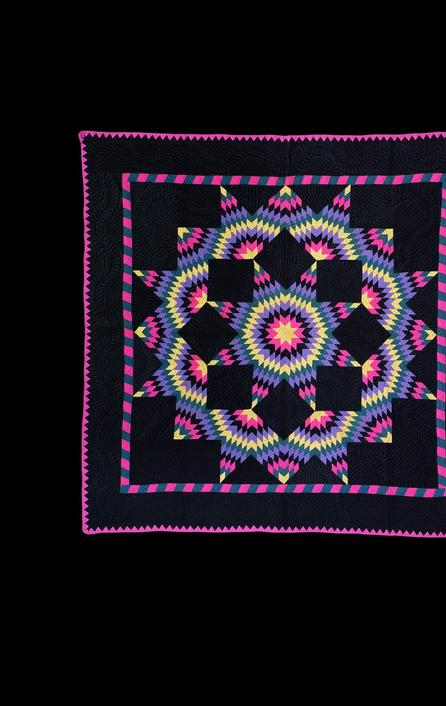 Antique Ohio Amish Quilts from Darwin D.  Bearley's collection