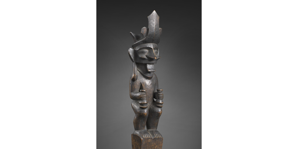 Ancestor figure, adu zatua, Nias 19th to early 20th century