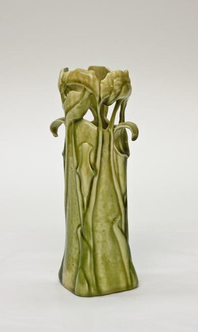 Tiffany Favrile Pottery Jack-in-the-Pulpit Vase