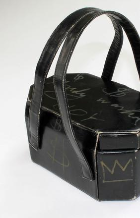 Handbag signed by Andy Warhol