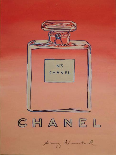 The top lot of the sale was this stylized rendering of the iconic Chanel No.  5 perfume bottle ($32,400).