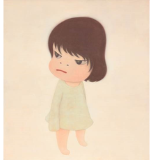 Yoshitomo Nara Missing in Action, 2000 acrylic on canvas, 165 x 150 cm.  Estimate on Request