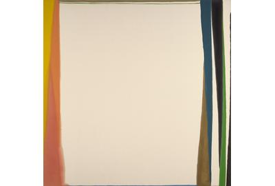 Larry Zox, Untitled, c.  1973, acrylic on canvas, 65 1/4 x 65 3/4 inches.
