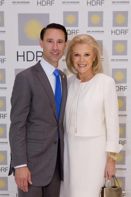 Scott Diament, Palm Beach Show Group President/CEO and Audrey Gruss, HDRF Founder and Chairman