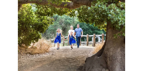 My family in August 2019 at Rancho San Antonio Preserve, Cupertino, California.