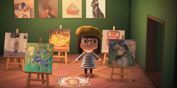 The Getty's Animal Crossing: New Horizons let's you design an art-filled island paradise.
