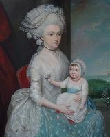 James Earl, American (1761-1796), Margaret Whaley Hurst, 1782.  Oil on canvas, 23 3/4 x 19 3/4 inches.  Courtesy of the Alexander Gallery