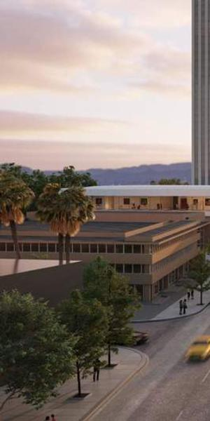 Rendering for LACMA