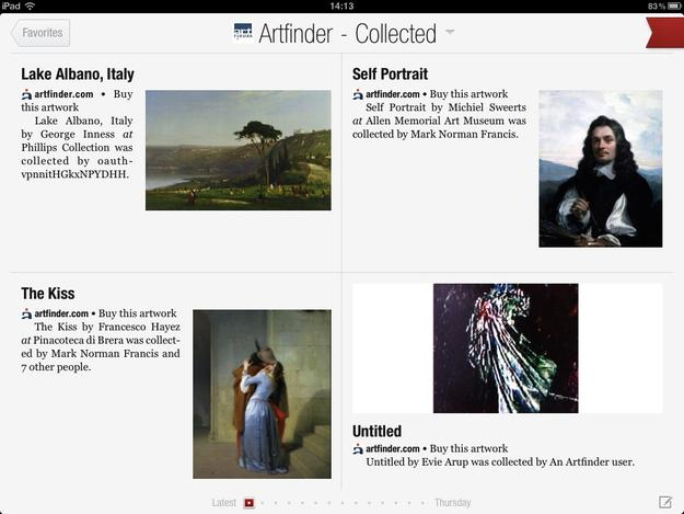 Artfinder on Flipboard