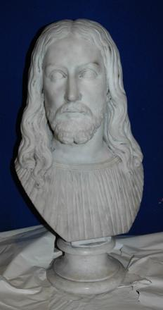 Bust of Christ by Edmonia Lewis, 1870.