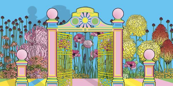 Artists Baker and Borowski will take over a section of Warwick Road with an installation based on Victorian Pleasure Gardens .