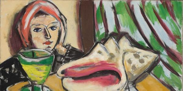 Max Beckmann, Still Life with Large Shell (1939) Courtesy Baltimore Museum of Art.  Artists Rights Society (ARS), New York / VG Bild-Kunst, Bonn.